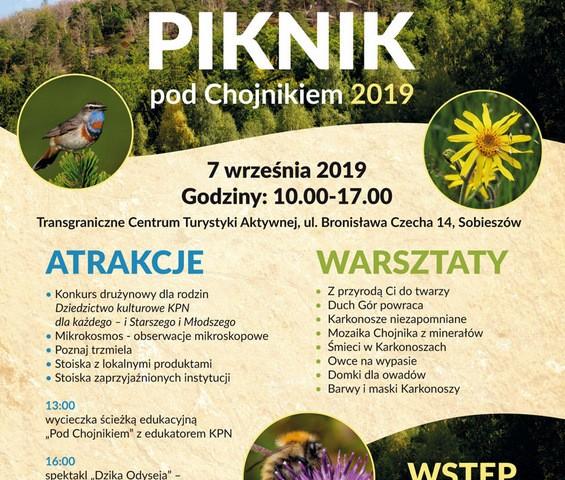 Plakat B2 Piknik pod Chojnikiem 2019.cdr
