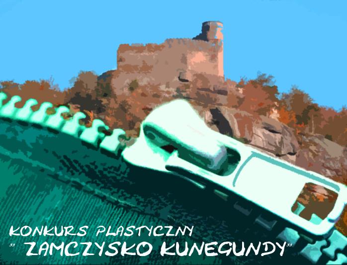 konkurs zamczysko kunegundy plakat