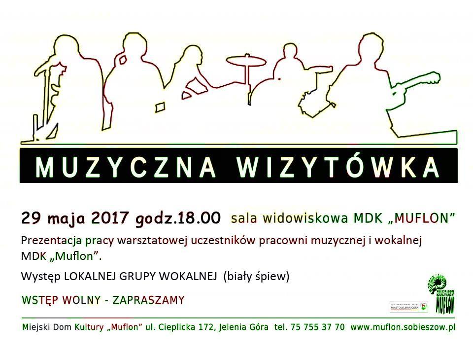 muzyczna wizytówka 29.05.17 plakatka