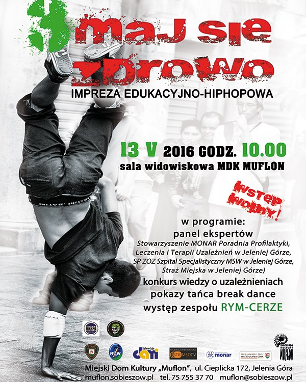 plakat hip hop 2