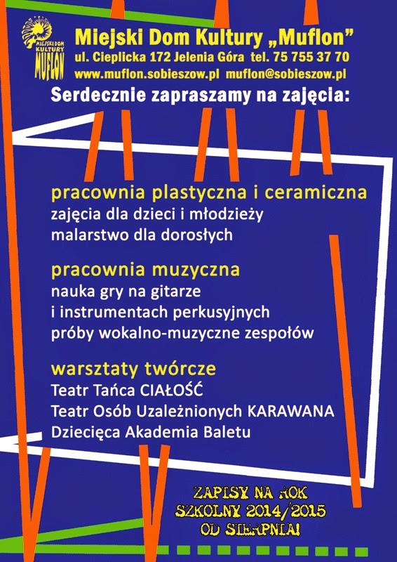 plakat zajęcia 2015